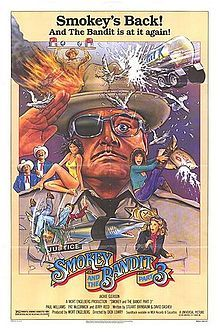 Smokey and the Bandit, Part 3 posters for sale online. Buy Smokey and the Bandit, Part 3 movie posters from Movie Poster Shop. We're your movie poster source for new releases and vintage movie posters. Original Movie Posters, Movie Poster Art, Film Posters, George Peppard, Smokey And The Bandit, Jacqueline Bisset, Trans Am, Sheriff, Bagdad Cafe
