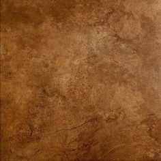 Style Selections�Mesa Rust Glazed Porcelain Floor Tile (Common: 18-in x 18-in; Actual: 17.75-in x 17.75-in)