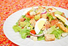Buffalo Chicken Cobb Salad by Joelen of What's Cookin, Chicago?