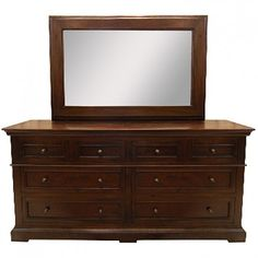 HOME TRENDS AND DESIGN CASABLANCA DRESSER & MIRROR Gallery Furniture