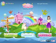 Always Icecream, the innovative play and learning website exclusively for girls from kindergarten through grade. Learning Sites, Fun Learning, Educational Videos, Educational Technology, Teacher Sites, Online Games For Kids, Math For Kids, Try It Free, Castle Unicorn