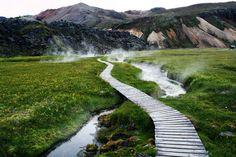 paganroots:  Landmannalaugar, Iceland By Serafi