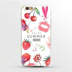 Colorful TPU Cases For Apple Iphone 7 7 Plus 6 6S 5 5S 4 4S Phone Bags Flower Floral Cases For Apple Iphone7 Plus 6 5S SE Covers