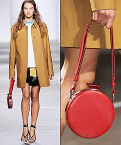 Red gem from Topshop's Spring 2015 collection