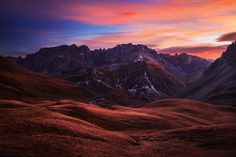 Alpine Sunrise by Florent Courty on 500px