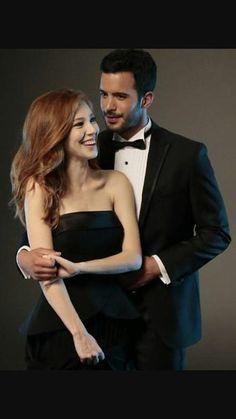 Elcin Sangu and Baris Arduc Turkish Men, Turkish Beauty, Turkish Actors, Romantic Photography, Couple Photography Poses, Luxury Couple, The Best Series Ever, Elcin Sangu, Special People