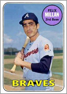 Motivated Julio Teheran Atlanta Braves Star Authentic Signed Autographed Official Baseball Autographs-original