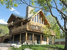 Bigfork House Rental: Log Home Overlooking Flathead Lake ~ Aug 31-sept 5 Available! | HomeAway