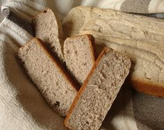 Pan de trigo sarraceno. Horno  (en lugar de levadura usé bicarbonato)