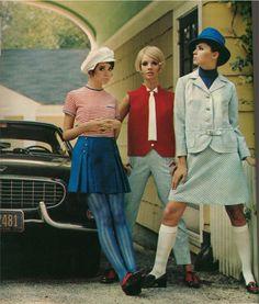 Bobbie Brooks ensembles, 1960s.