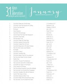 Printable Read the Bible in One Year Plan | Bible readings ...