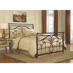 Lucinda King-size Bed | Overstock.com Shopping - The Best Deals on Beds