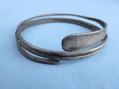 Keltisch zilveren La Tène spiraal armband - 6 cm
