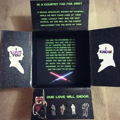 Star Wars Deployment Care Package I made for my husband