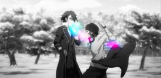 #kproject can I just say that I cried so much at the end of the anime #yata #fushimi but I ship these two so hard ahahah <3