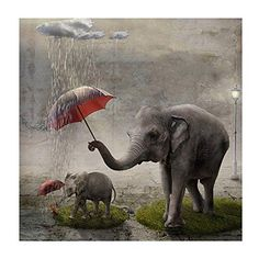 Beautiful Diamond Embroidery Cross Stitch Rhinestone Mosaic Painting for your home decor or Designs to select from, collect them all.New Diamond Painting Kits arriving Satisfaction. Image Elephant, Elephant Love, Elephant Art, Elephant Images, Elephant Family, Elephant Gifts, Animals And Pets, Baby Animals, Cute Animals