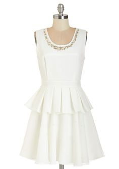 Pearls Night Out Dress #ModCloth