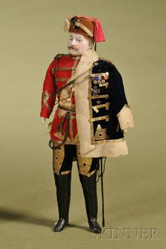 Dollhouse Doll Soldier | Sale Number 2476, Lot Number 154 | Skinner Auctioneers
