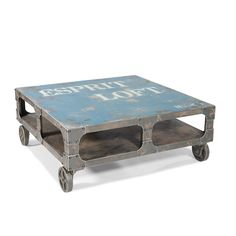 Loft Coffee Table Blue