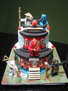 Ninjago - Cake by Nicholas Ang - CakesDecor