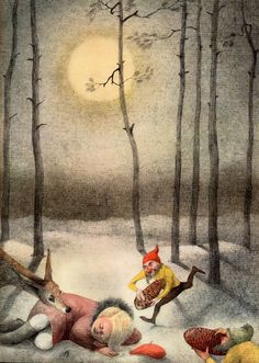 František Halas: 'To The Children' lllustrated by Ota Janeček. 1961.