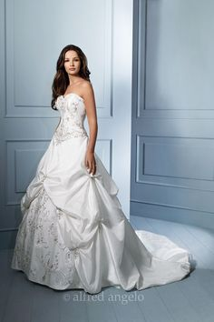 Wedding gown by Alfred Angelo Sapphire