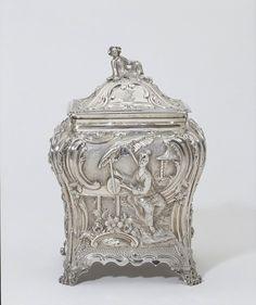 Tea caddy | Gillois, Pierre | 1766-1767, London, England