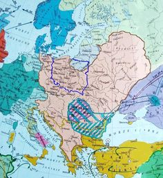 Old World Maps, Eastern Europe, Middle Ages, Geography, Planer, Diagram, World Maps, Prehistory, Empire