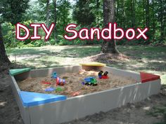 Nanas Petals: DIY-Build Your Own Sandbox
