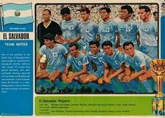 El Salvador team group for the 1970 World Cup Finals.