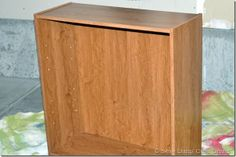 How to paint veneer (not wood) furniture: She uses chalk paint for the base and gets great results.