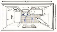 Bathroom design floor plans best small narrow bathroom floor plans bathroom plans bathroom in small bathroom Small Narrow Bathroom, Small Bathroom Floor Plans, Master Bathroom Layout, Small Floor Plans, Bathroom Design Small, Basement Bathroom, Bathroom Flooring, Bathroom Ideas, Small Bathroom Dimensions