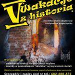 Plakat V Wakacji z historią