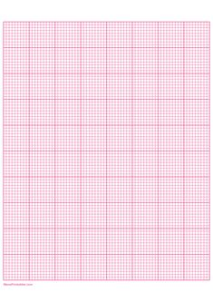 Printable 9 Squares Per Inch Pink Graph Paper for Paper Bangladesh Flag, Printable Graph Paper, Diy Fleur, 9 Square, Perspective Drawing, Borders For Paper, A4 Paper, Mandala Coloring, Plastic Canvas Patterns