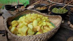 Sri Lankan Manioc with Turmeric