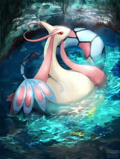 Milotic by marucoboolo on DeviantArt Cool Pokemon Wallpapers, Pokemon Backgrounds, Cute Pokemon Wallpaper, Deadpool Pikachu, Pikachu Art, Pokemon Alola, Pokemon Eeveelutions, Powerful Pokemon, Pet Monsters