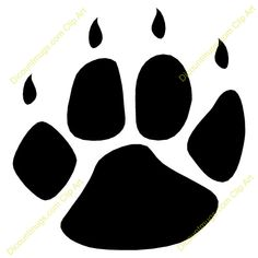 Panda Footprints | Displaying (18) Gallery Images For Bobcat Paw Logo...