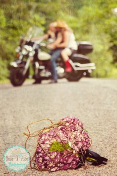 {biker wedding}
