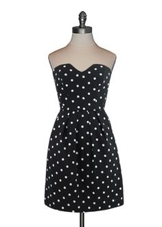 Emily and Fin - Lucille Dress in Black/White