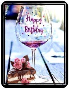 Happy Birthday Drinks, Happy Birthday Wishes Images, Happy Birthday Celebration, Happy Birthday Flower, Happy Birthday Beautiful, Happy Birthday Quotes, Happy Birthday Greetings, Cake Birthday, Fun Birthday Wishes
