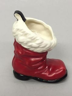 Goebel West Germany Santa Claus Boot Candy Holder