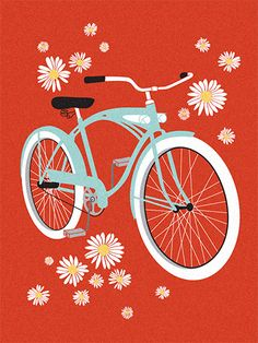 Bici flowers