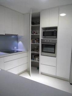 Do you want to have an IKEA kitchen design for your home? Every kitchen should have a cupboard for food storage or cooking utensils. So also with IKEA kitchen design. Here are 70 IKEA Kitchen Design Ideas in our opinion. Hopefully inspired and enjoy! Corner Pantry Cabinet, Kitchen Cabinet Remodel, Modern Kitchen Cabinets, Kitchen Cabinet Design, Kitchen Flooring, Interior Design Kitchen, New Kitchen, Kitchen Ideas, Pantry Cabinets