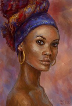 Portrait Study by Lady-DreamArt.deviantart.com on @DeviantArt