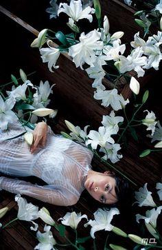 蜷川実花 Mika Ninagawa 人像摄影 Japan Advertising, Creative Posters, Japanese Art, Girl Power, Fashion Art, Seasons, Floral, Photo Ideas, Whimsical