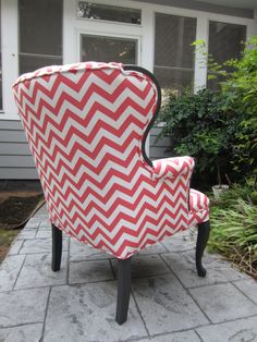 Accent Chair Pink Lemonade by Urbanmotifs on Etsy