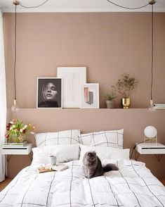 Up in Arms About Dusty Pink Bedroom Walls? Your bedroom won't only be better off, but a lot of facets of your life is going to be, too. Again in a home, it is not necessarily yours only. Dusty Pink Bedroom, Pink Bedroom Walls, Bedroom Colors, Home Decor Bedroom, Light Pink Bedrooms, Bedroom Brown, Light Bedroom, Boy Bedrooms, Interior Livingroom