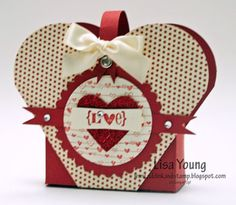 Add Ink and Stamp: A Valentine Box