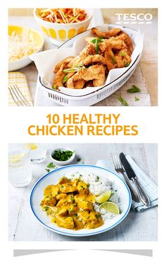 Our healthy chicken collection features everything from an easy curry recipe to a lighter fried chicken recipe | Tesco