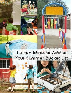 15 Fun Ideas to Add to Your Summer Bucket List